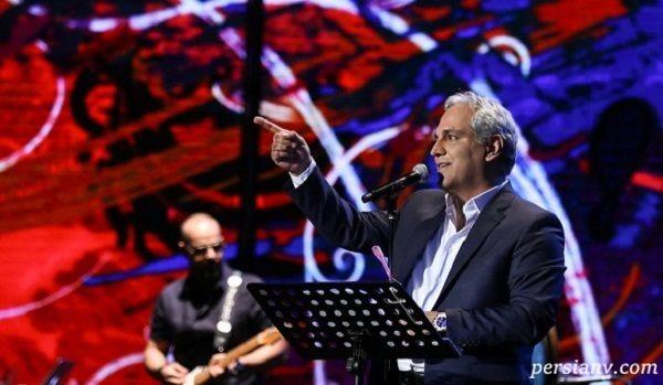 رقصیدن مهران مدیری در کنسرت لاکچری اش