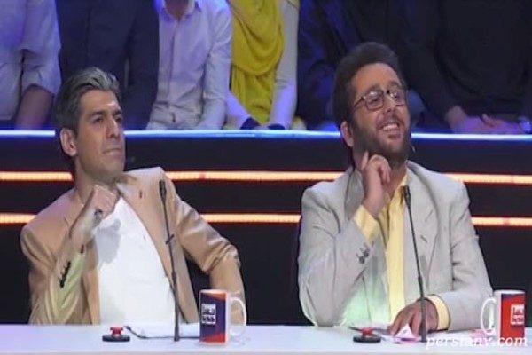 برنامه ناخنک خنده بازار نیست | واکنش سید بشیر حسینی به شوخی با او !!