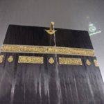 بارش باران در مسجدالحرام و اقامه نماز زیر بارش رحمت الهی!