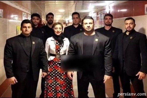 بادیگاردهای بازیگران ایرانی از نیوشا ضیغمی تا مهران مدیری!!