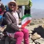 فرناز دولتخواه بانوی کوهنورد در دماوند مفقود شد!!