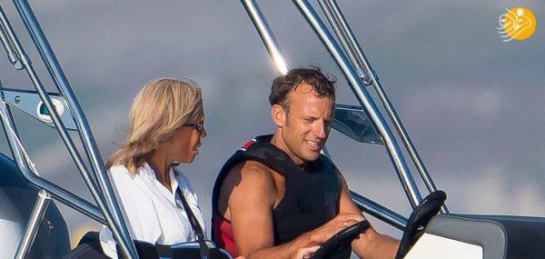 رئیس جمهور فرانسه و همسرش