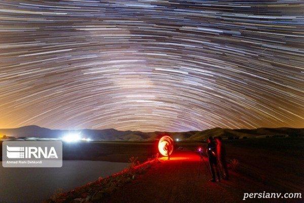 بارش شهابی برساوشی در آسمان چهارمحال و بختیاری را ببینید!!