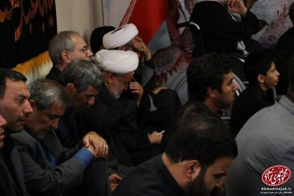 احمدی نژاد در شام غریبان