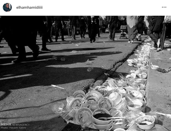 پست اینستاگرام الهام حمیدی