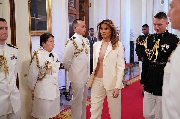 ملانیا بانوی اول آمریکا و زیباسازی کاخ سفید توسط او!