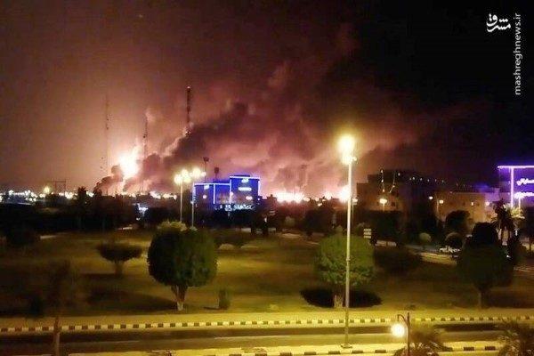 تاسیسات نفتی آرامکو عربستان و عملیات بزرگ پهپادی نیروهای یمنی علیه آن!!