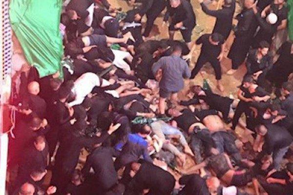 حادثه کربلا در روز عاشورا و اولین فیلم منتشر شده آن+ اسامی مجروحان ایرانی