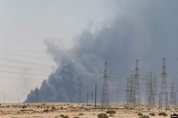 حمله به تاسیسات نفتی عربستان و متهم شدن ایران از سوی آمریکا!!