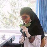 دانشگاه شهید بهشتی از مریم مقتدری دانشجوی قلابی شکایت کرد!!
