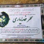 حاشیههای مراسم ترحیم سحر خدایاری معروف به دختر آبی!!