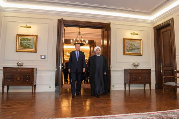 دیدار حسن روحانی با اردوغان
