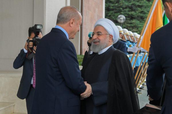 دیدار حسن روحانی با اردوغان در آنکارا