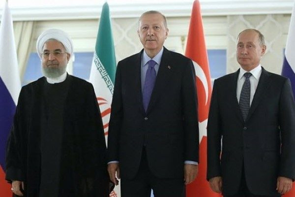 رئیس جمهور ترکیه اردوغان و پذیرایی او از روحانی و پوتین با انجیر!!