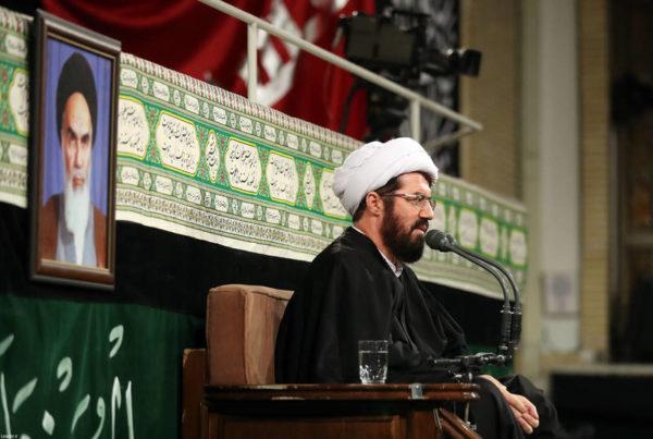 سخنرانی مسعود عالی در حضور رهبر
