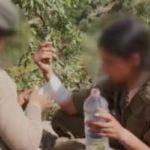 سرباز ترکیه و اقدام انسانی او با تروریست زن که مورد تحسین قرار گرفت!!