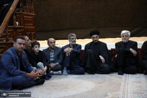 شب تاسوعا در حرم امام خمینی