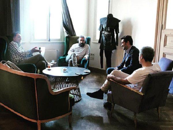 شهاب حسینی و حسن فتحی