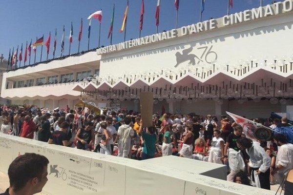 فرش قرمز جشنواره ونیز