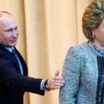 قدرتمندترین زن روسیه که در همچنان برای او روی یک پاشنه می چرخد!!