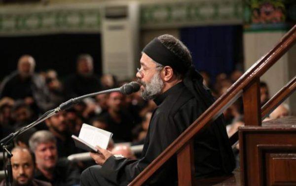 مداحی محمود کریمی در مراسم شام غریبان در بیت رهبر انقلاب!