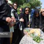 مراسم تشییع مسعود عربشاهی با حضور چهره ها!