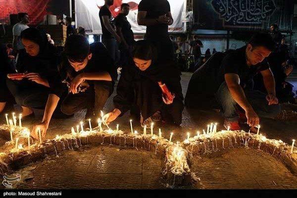 تصاویری از مراسم شام غریبان تهران در عاشورای ۹۸!