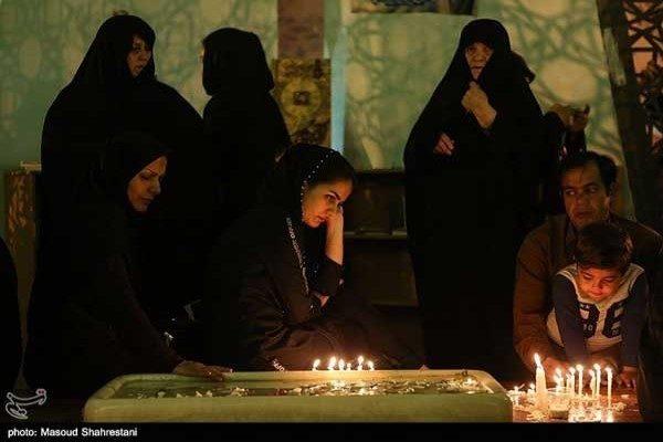 تصاویری از مراسم شام غریبان تهران در عاشورای 98!