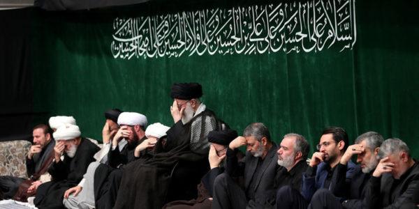 مراسم عزاداری تاسوعای حسینی با حضور رهبر انقلاب و مداحی میثم مطیعی!