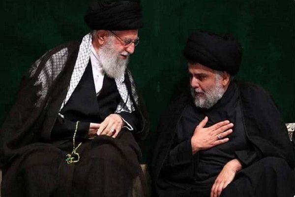 مقتدی صدر و رهبر انقلاب در کنار هم و بازتاب وسیع آن در فضای مجازی!