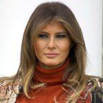 ملانیا ترامپ بانوی اول آمریکا در یک مراسم افتتاحیه سوژه شد!!