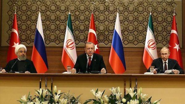 نشست خبری پوتین و روحانی