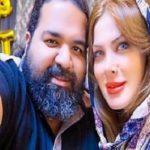 همسر رضا صادقی خواننده مشکی پوش و جشن تولد ۳۶ سالگی اش!