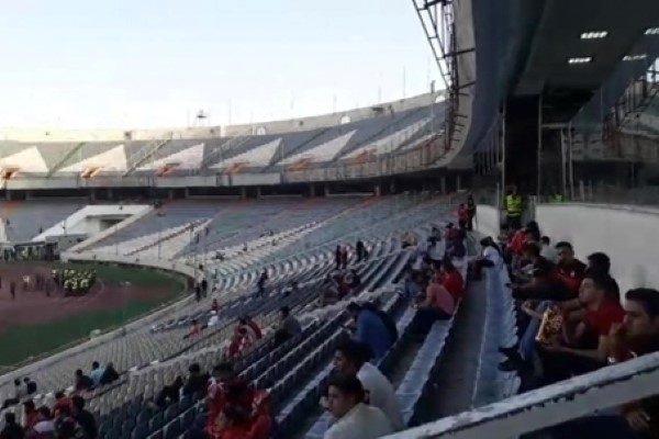 کودک فوت شده در استادیوم آزادی