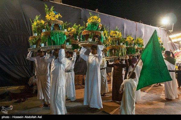 مراسم نمادین عروسی حضرت قاسم (ع) در خرمشهر!!