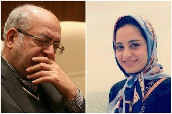 شبنم دختر نعمت زاده وزیر سابق صمت روانه زندان شد!!