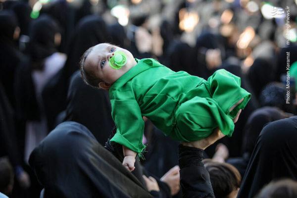 همایش شیرخوارگان حسینی در استادیوم صد هزار نفری آزادی!