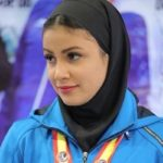 سارا بهمنیار کاراته کار ایرانی با مردی که مدال طلا را گردنش انداخت دست نداد!
