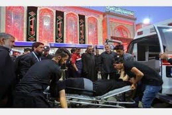 فوت زائر ایرانی در کربلا در حادثه روز گذشته و انتقال پیکرش به ایران!