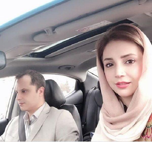 عکس های شبنم قلی خانی و همسرش