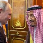 عصبانیت پوتین در عربستان بابت پخش سرود ملی کشورش به صورت درهم !!!