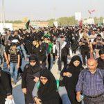 موج بازگشت زائران اربعین از مرز مهران به داخل کشور