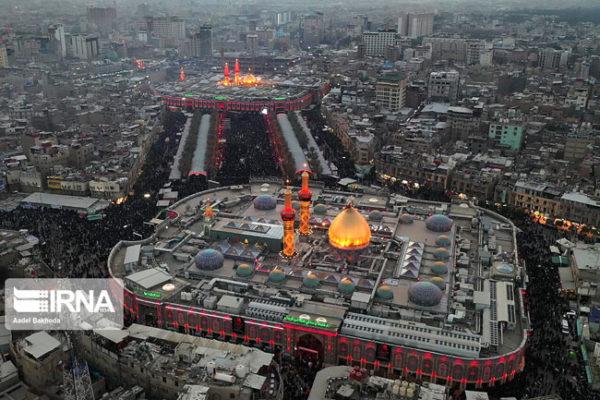 تصویر هوایی از بین الحرمین