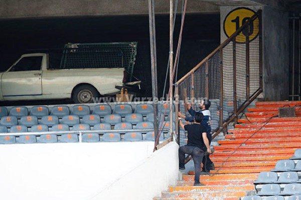 جایگاه بانوان در ورزشگاه آزادی