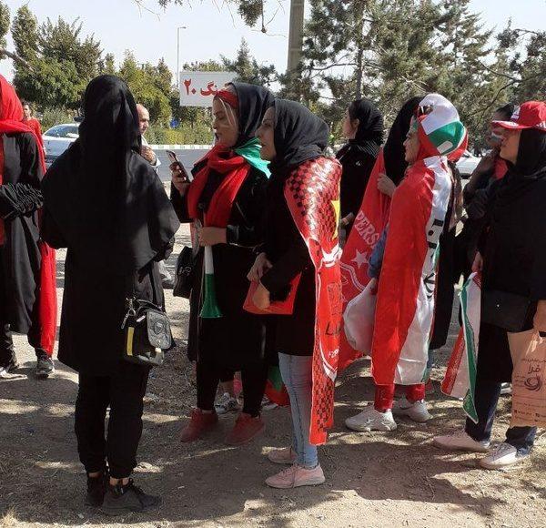 حضور زنان در استادیوم