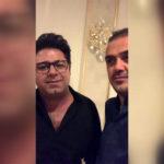 حجت اشرف زاده خواننده معروف در مهمانی خصوصی برای امام رضا خواند!