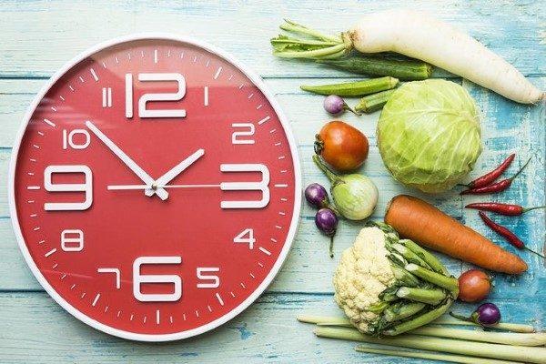 زمان مناسب خوردن مواد غذایی