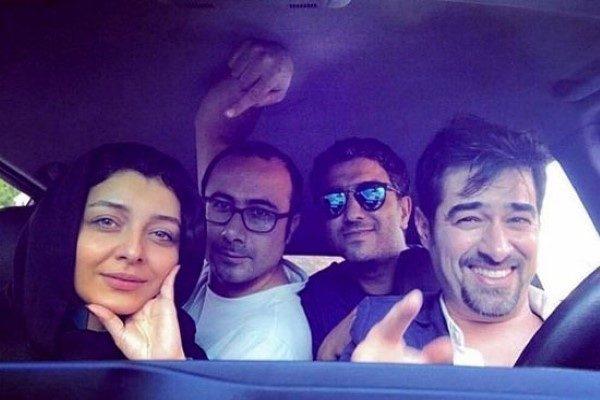 ساره بیات با شهاب حسینی