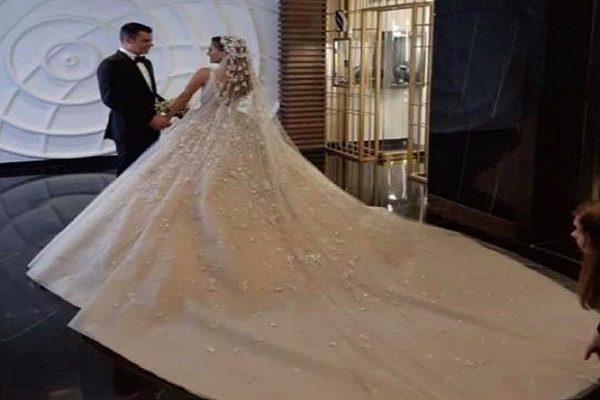 تصاویر منتشر شده از مراسم عروسی پسر سیاستمدار معروف لبنانی!