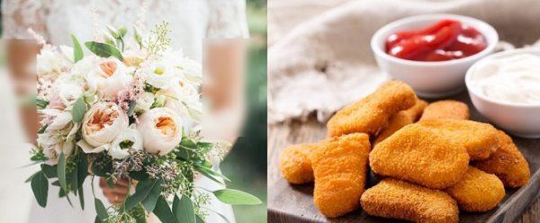 عجیب ترین دسته گل عروس که از گل ساخته نشده است !!!